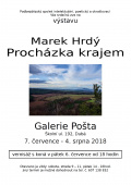 Výstava vGalerii Pošta: Marek Hrdý - Procházka krajem